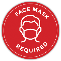 Face Mask Required Sign 5Ebd4441A4826